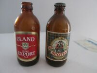 VINTAGE OLD SCOTIA ALE & OLAND STUBBY BEER BOTTLES