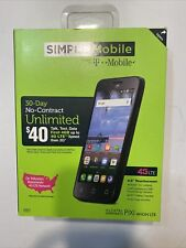 Simple Mobile📱Alcatel OneTouch Pixi Avion 4G LTE PrePaid Unlimited NationWide