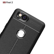 für Google Pixel 2 hülle Tasche Handy Leder PU Silikon Cover Case In schwarz
