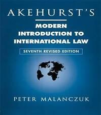 Akehurst's Modern Introduction to International Law by Peter Malanczuk