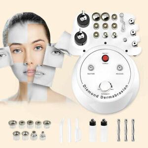 3in1 Diamond Dermabrasion Microdermabrasion Skin Peeling Acne Wrinkles Removal