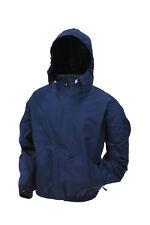 Men's Frogg Toggs Karta Rain Jacket XL Sports Construction Blue New With Tags