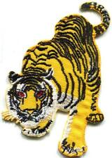 Tiger cat puma jaguar lion animal wildlife applique iron-on patch new S-495