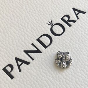PANDORA Memories Precious Gift Petite Floating Locket Charm 792167CZ ~ NEW