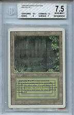 MTG Revised Dual Land Bayou BGS 7.5 Graded Card Magic The Gathering WOTC 3016
