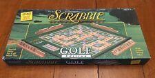 Scrabble Crossword Game - GOLF Edition - New Open Box