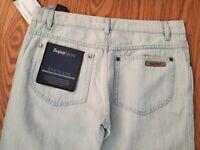 Ermenegildo Zegna sport slim fit Five-Pocket linen blend Pants Size 33x34