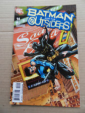 Batman And The Outsiders 14 . Batman R.I.P / Last Issue  - DC 2009 - VF - minus