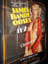 james bande 00sex  -BRIGITTE LAHAIE affiche cinema sexy vintage