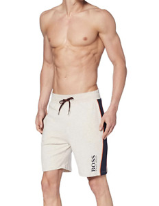 HUGO BOSS Contemporary Pyjama Track Shorts, Small, Pastel Grey, BrandNew, RRP£65