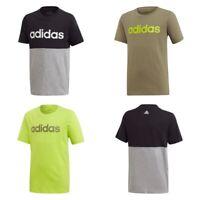 Adidas Boys Football T Shirt Kids Junior Training Jersey Sports Tee Top S M L