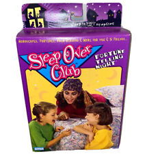 Girl Talk Sleepover Club 1990s Fortune Telling Night Game Astrology, Palm 1995