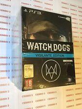 WATCH DOGS VIGILANTE EDITION - PS3 - NUOVO SIGILLATO VERSIONE ITALIANA