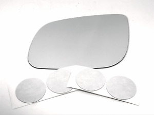 Fits 15-19  Sedona Left Driver Side Mirror Glass Lens w/ Adhesive