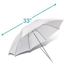 "33"" 83cm Photography studio flash Light Translucent White Soft Reflect umbrella"