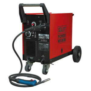 Sealey MIGHTYMIG170 Professional 170Amp MIG Welder with Euro Torch