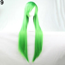 EG_ New Fashion Womens Hair Long Anime Wigs Cosplay Wigs Full Straight Novelty
