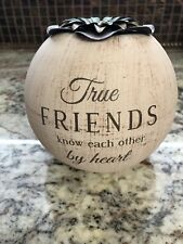 Candle Holder -True Friends - Globe Candle Holder - New