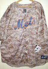 MLB NY Mets David Wright #5 Stitched Sewn Camo Majestic Jersey: 5XL - 4XL (NWT)