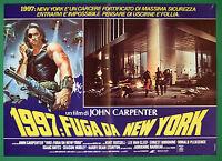 T76 Fotobusta 1997 Fuga For New York John Carpenter Kurt Russell Lee Van Cleef 2