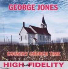 GEORGE JONES - COUNTRY CHURCH TIME (NEW CD)