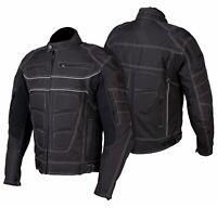 Motorradjacke - Innenfutter und Membran herausnehmbar- Textil Motorrad Jacke