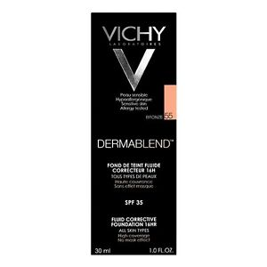 Vichy Dermablend Fluid Corrective Foundation SPF35 Bronze 55 GENUINE & NEW