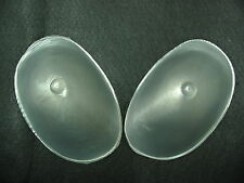 TRANSPARENT SILICONE BRA INSERTS SILICON BREAST BOOB BOOBS ENHANCER NU FORM PADS