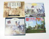 Lot of 4 Civil War Calendars Paintings of Mort Kunstler Gettysburg 1994-1995