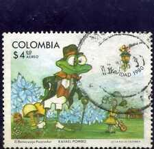 frog.-Christmas Of Colombia,stamp ''Navidad' ' 1980