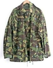 Army Camo Combat Smock Windproof Military Jacket Size 180/104