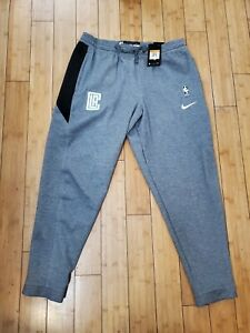 New Nike Los Angeles Clippers Drifit Athletic Travel Pant Size 2XL 932970-032