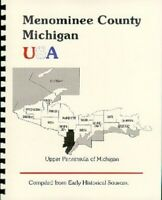 MI Menominee County 1883 History of the Upper Peninsula of Michigan New RP