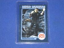 The Blue Haired Frankenstein Monster Horror Wgsh Mego Museum Promo Trading Card