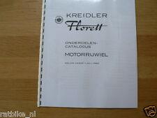 K0201 KREIDLER---ONDERDELEN CATALOGUS MOTORRIJWIEL---KREIDLER FLORETT-MODEL