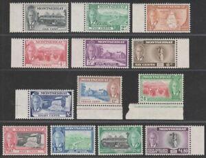 Montserrat 1951 King George VI Set UM Mint SG123-135 cat £75 MNH