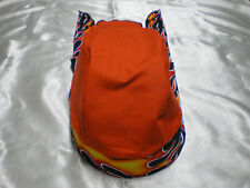 Harley Toms Flames II Doo Rag Chef Hat Do Rag Bandana Painter Hat Skullcap