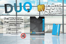 Anti RFID passports - DUO Voûte Sécurité