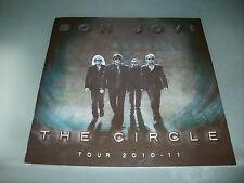 BON JOVI  The Circle 2010-2011 Tour Program  Concert Book NEW