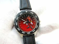"SEGA,SONIC,""Dr. Robotnik"",Rare! Military Dial KIDS/ MENS CHARACTER WATCH,1910"