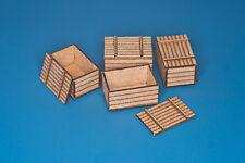 Bois de Caisses/Boîtes (4 pièces) #35D22 1/35 RB