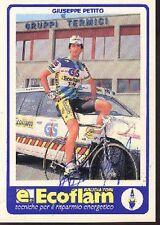 GIUSEPPE PETITO cycling vélo cyclisme dedicace ECOFLAM