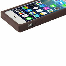 3D Chocolate Bar Look Soft Silicone Case Cover Skin For iPhone 5 5S UL
