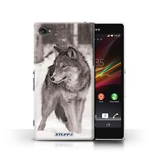 STUFF4 Back Case/Cover/Skin for Sony Xperia Z1 Compact/Mono Zoo Animals