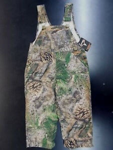 Infant Boys True Timber Camo Overalls Size 9 Months - 24 Months