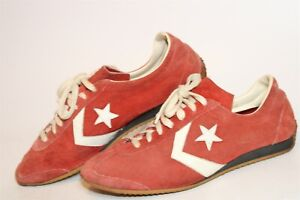 Converse All Star Vintage Late 70's RARE Mens Low Top Running Sneakers Shoes
