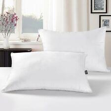 Puredown Bed Pillows 30% Down Feather tandard Queen Size Oeko-Tex 2Pcs