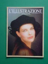 L'ILLUSTRAZIONE ITALIANA Gennaio Febbraio 1989 60 Carole Bouchet Brandenburg Jim