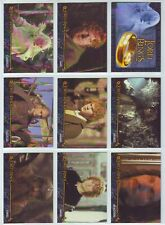 """LORD OF THE RINGS """" RETURN OF THE KING """" 20 CARD CADBURY / TOPPS SET 2003 ."""