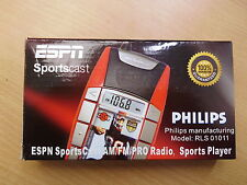 Philips RLS01011 radio sports joueur espn sports cast am/fm/pro